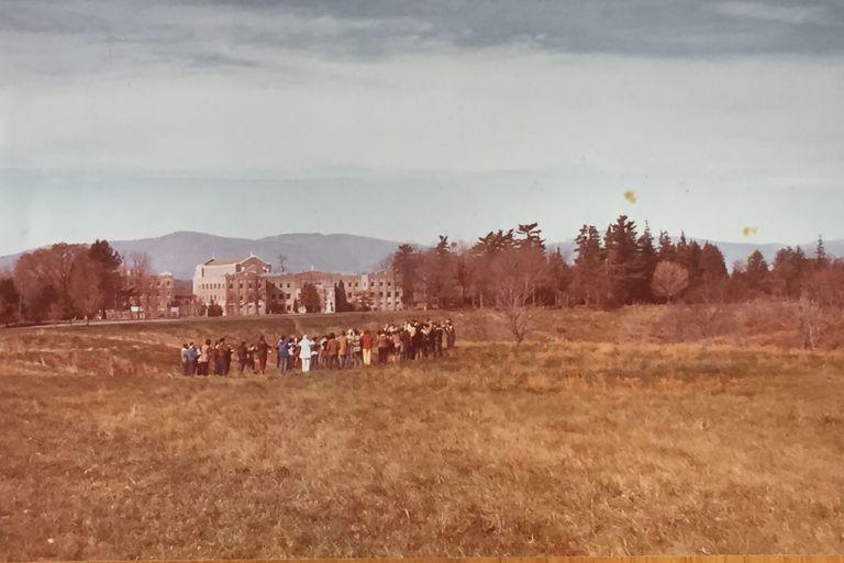"""Лагерь """"Церкви объединения"""" в Бэрритауне (штат Нью-Йорк), который Лиза посещала по выходным. Фото: © Lisa Kohn"""
