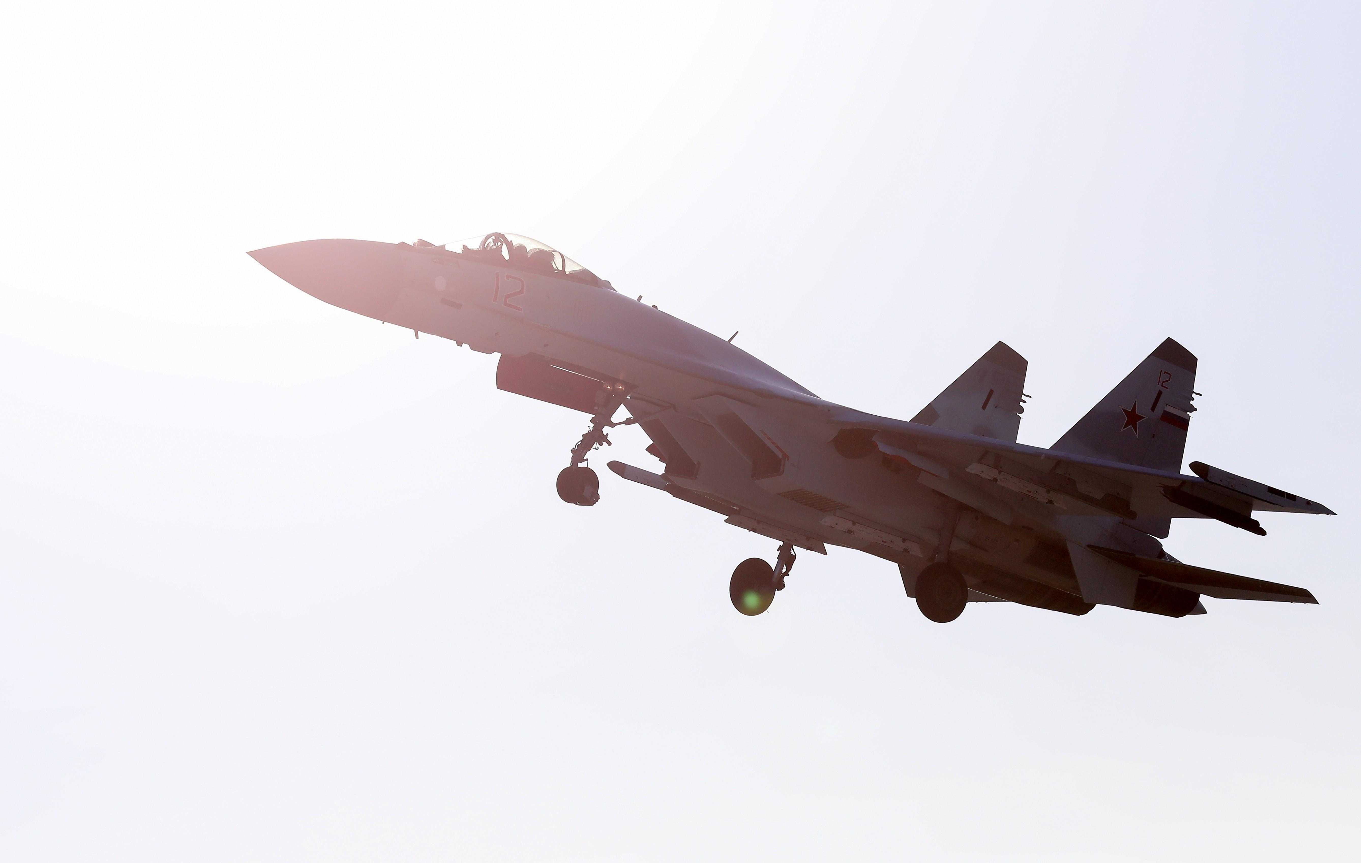 <p>Истребитель Су-35С. Фото: &copy;РИА Новости/Антон Балашов</p>