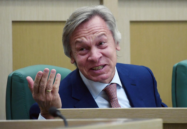 <p><span>Сенатор Алексей Пушков.&nbsp;</span><span>Фото &copy; РИА Новости/Владимир Федоренко</span></p>