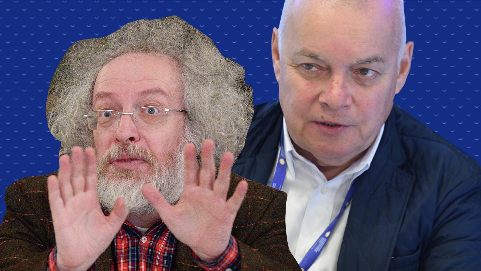 <p>Алексей Венедиктов (слева), Дмитрий Рогозин (справа). Фото: Фото: &copy; РИА Новости /&nbsp;Алексей Филиппов, Рамиль Ситдиков. Коллаж: &copy;L!FE</p>