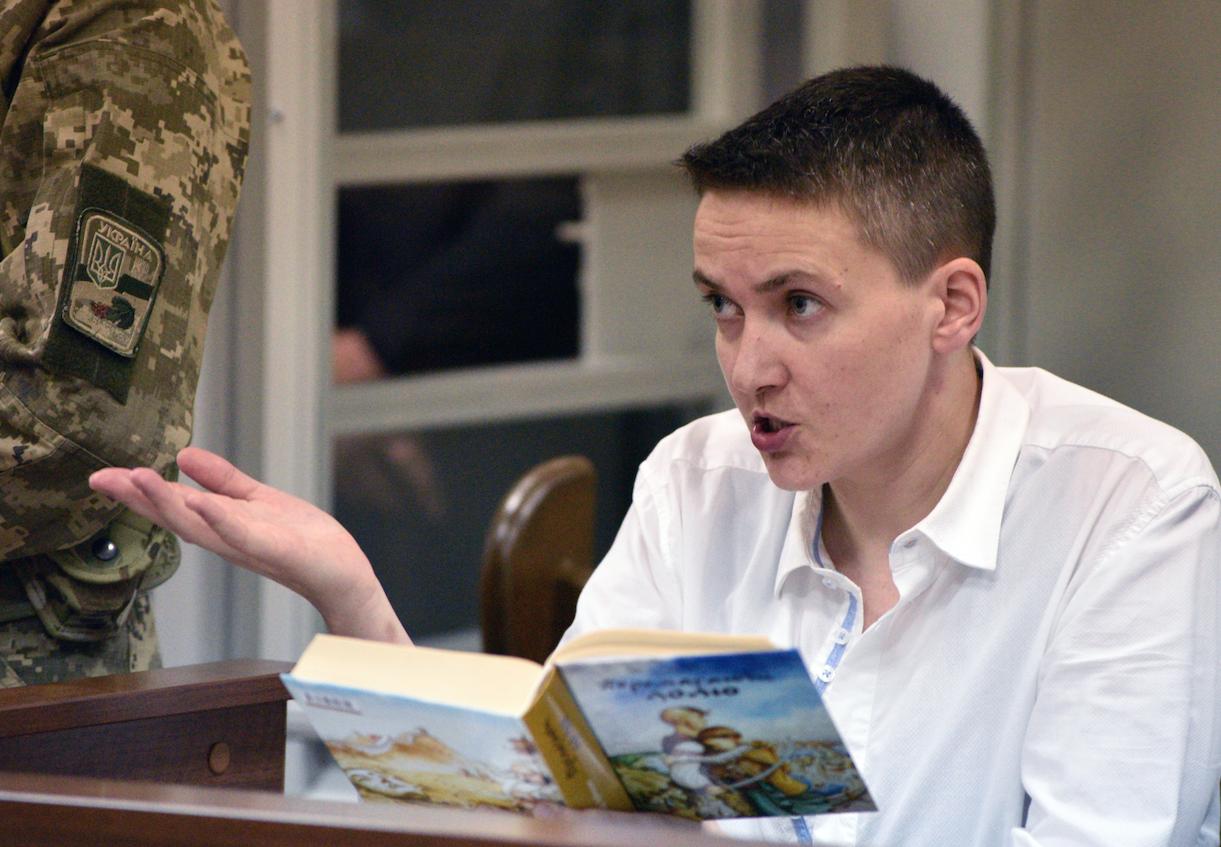 <p>Надежда Савченко. Фото: &copy;РИА Новости</p>
