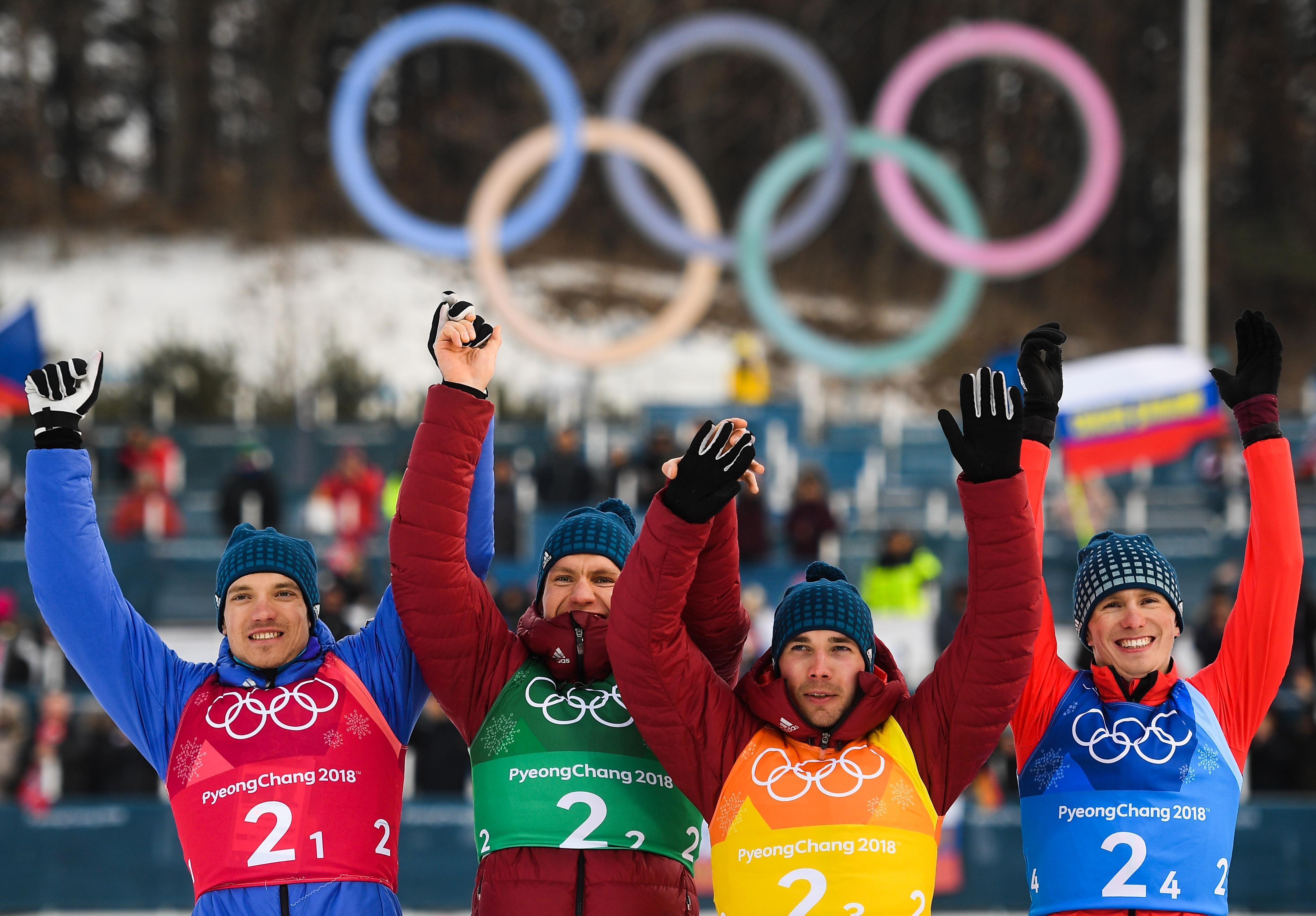Очень ярко выступили на Играх в Корее и российские лыжники. Они принесли нашей команде восемь медалей из 17 — три серебра и пять бронз. Это было просто блестяще, за что хочется сказать спасибо нашим лыжникам. Фото: © РИА Новости/Владимир Астапкович