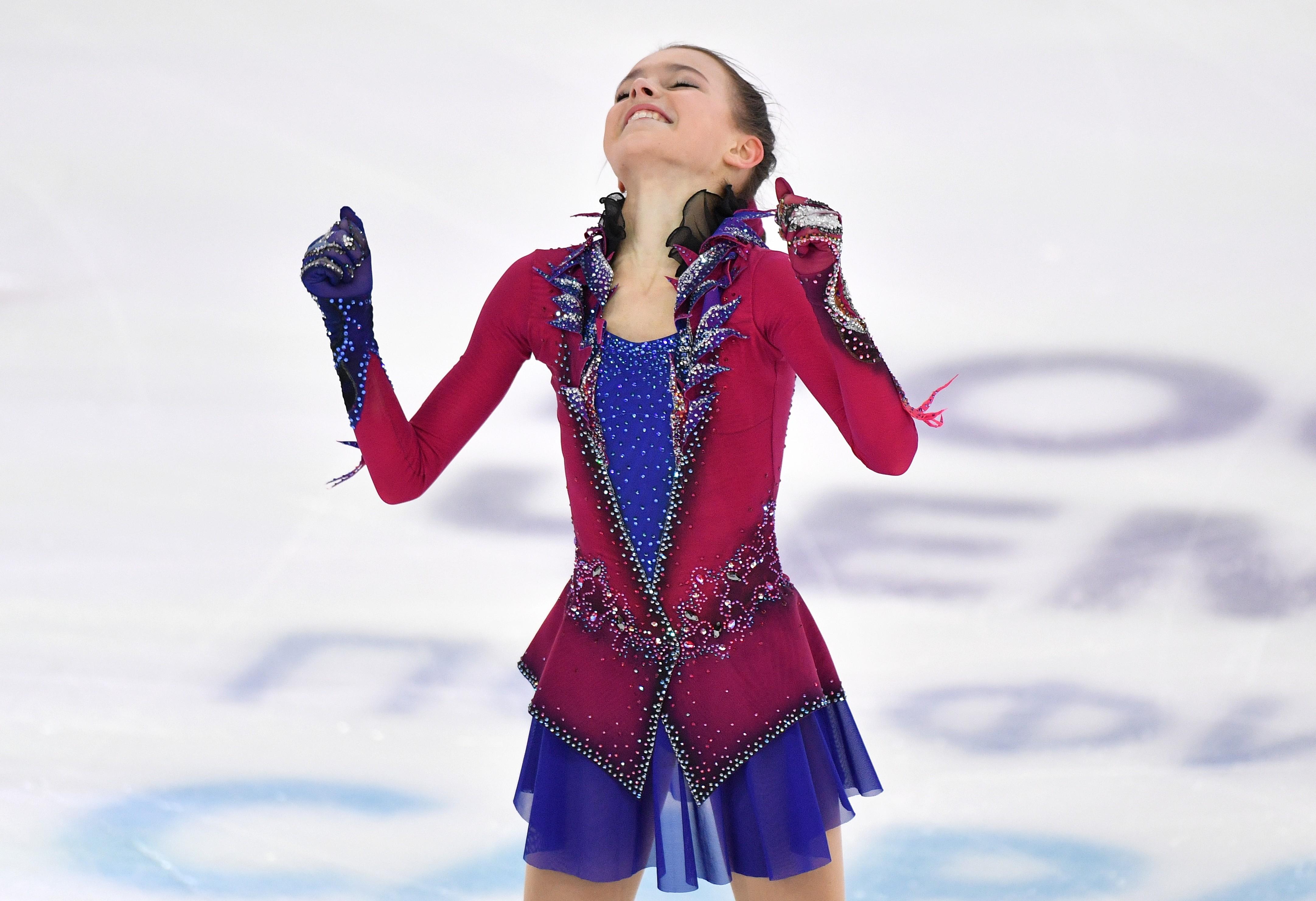Анна Щербакова вчера были лишь пятой, а сегодня взлетела на первое место. Фото: © РИА Новости/Владимир Песня