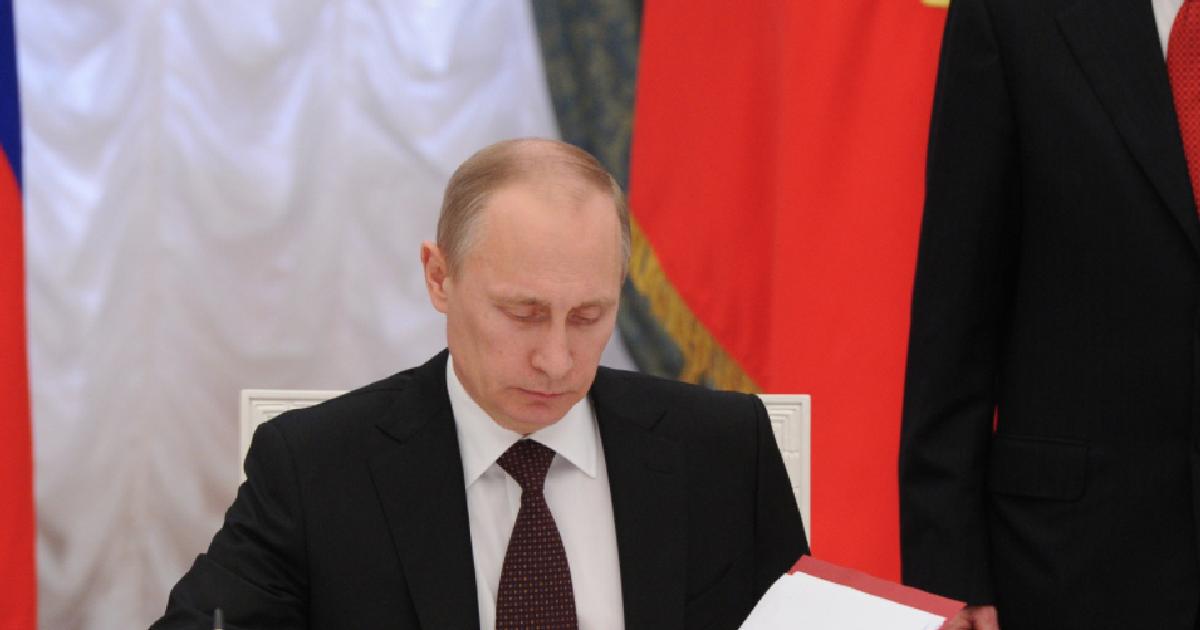 <p><span>Владимир Путин.&nbsp;Фото: &copy;РИА Новости/Михаил Климентьев</span></p> <div> <div> <div></div> </div> </div>