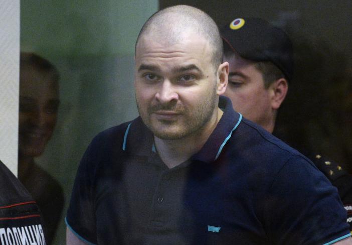 Тесак во время оглашения приговора в Бабушкинском суде Москвы. Фото: © РИА Новости/ Кирилл Калинников