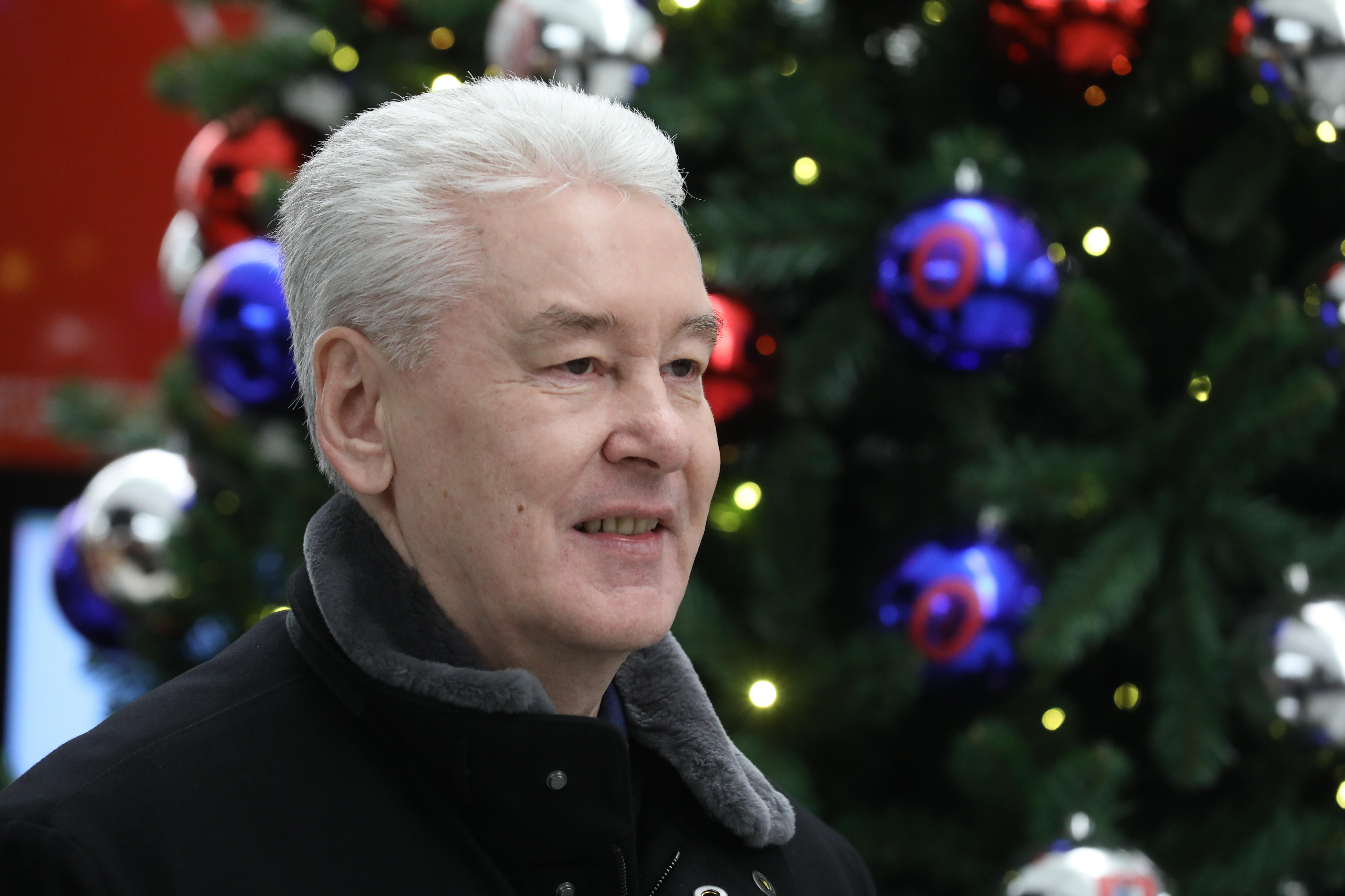Поздравление от мэра москвичей с новым годом