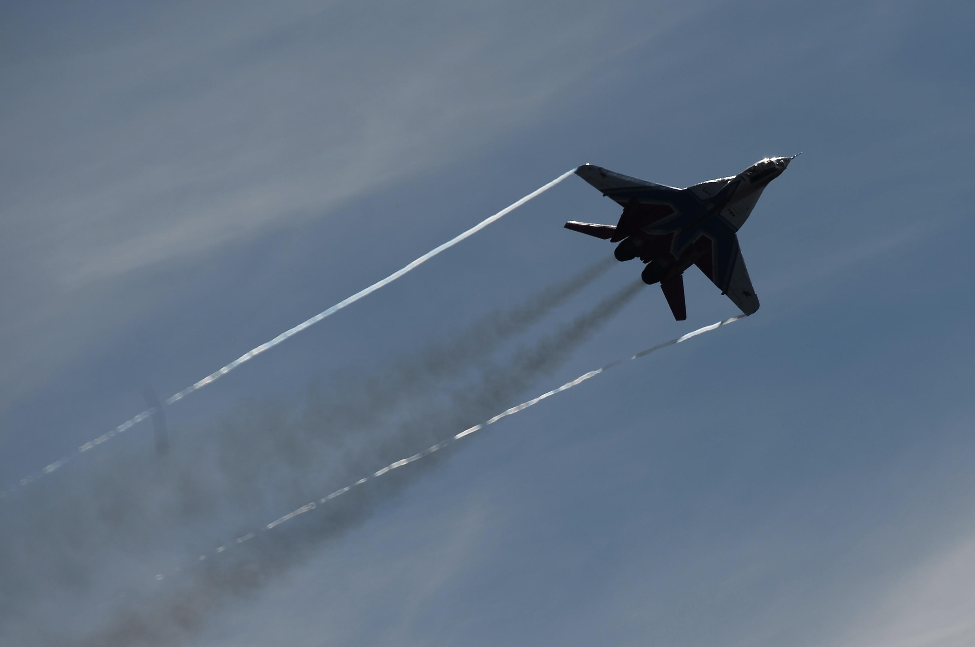 Многоцелевой истребитель МиГ-29. Фото: © РИА Новости / Максим Блинов
