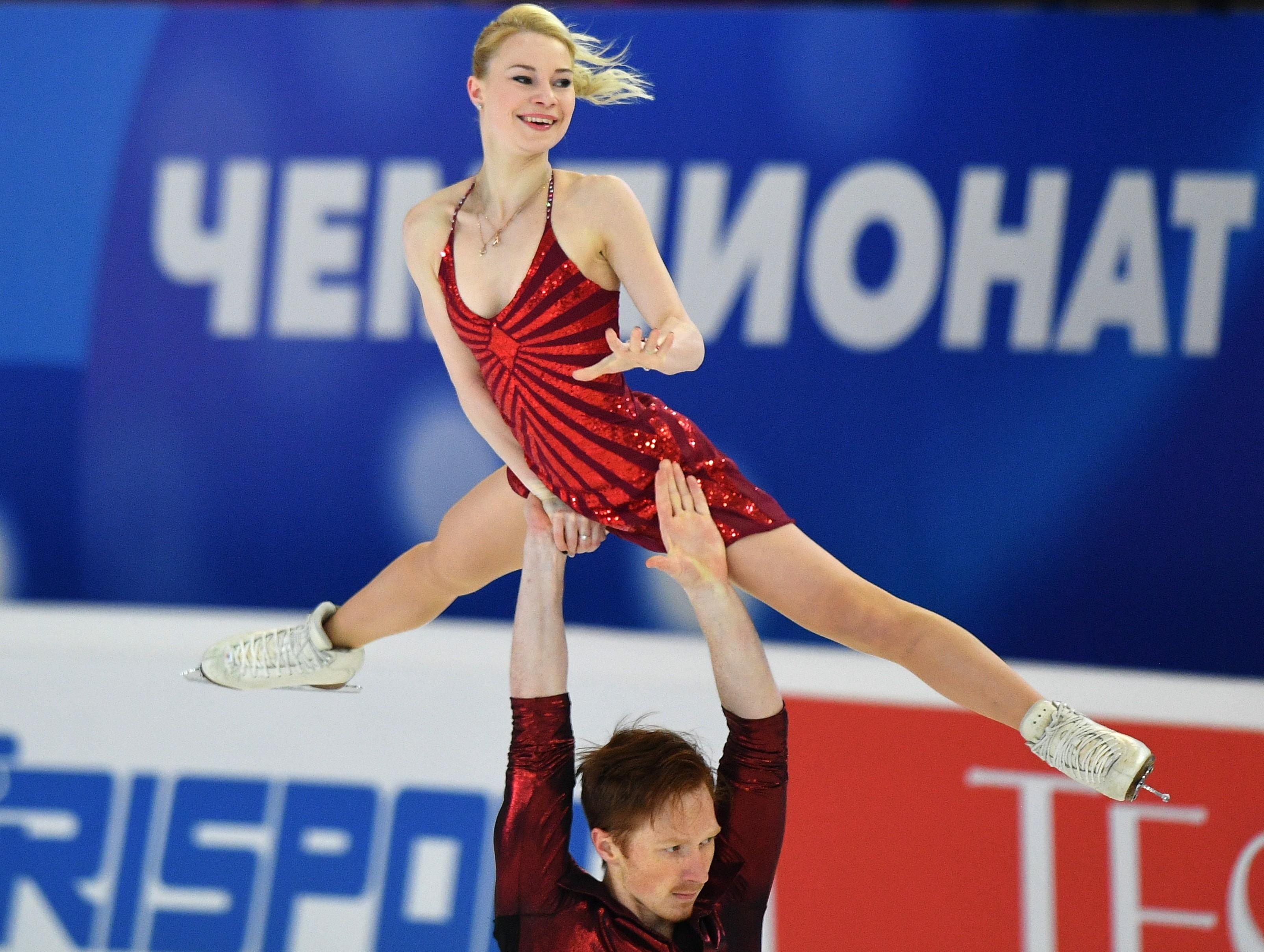 "Тарасова и Морозов в Саранске. Фото: © РИА ""Новости"" / Владимир Песня"