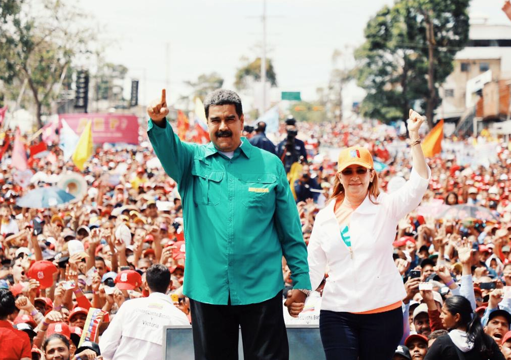 "<p>Фото &copy; Twitter/<a href=""https://twitter.com/NicolasMaduro/status/1088164387226075141"">Nicol&aacute;s Maduro</a></p>"