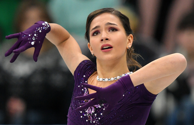 Станислава Константинова запрыгнула на четвёртое место. Фото: © РИА Новости / Владимир Песня
