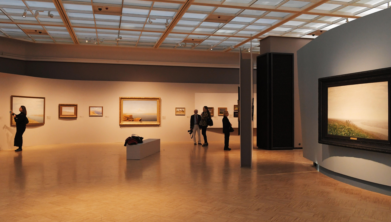 <p>Выставка Куинджи в Третьяковской галерее. Фото: &copy; РИА Новости/Владимир Вяткин</p>