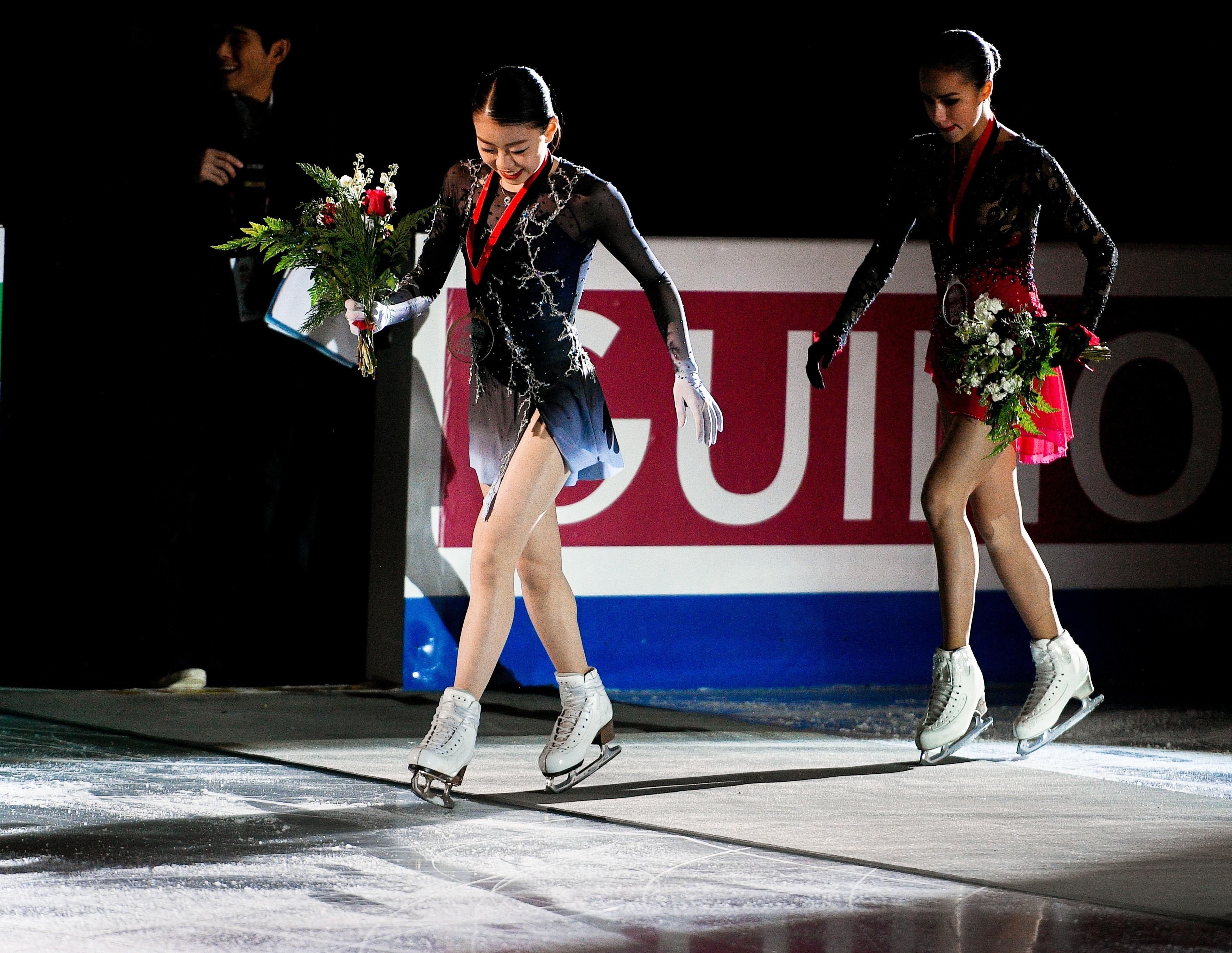 В финале Гран-при Загитова оказалась в тени Кихиры. Фото: © РИА Новости / Александр Вильф