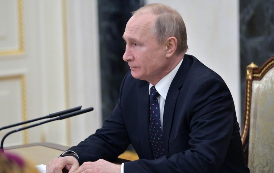 "<p>Владимир Путин. Фото: &copy; РИА ""Новости"" / Алексей Дружинин</p> <div> <div> <div></div> </div> </div> <div> <div></div> </div>"