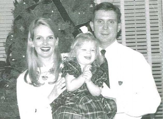 Майк и Дениз Уильямс с дочерью. Фото: © Florida Today