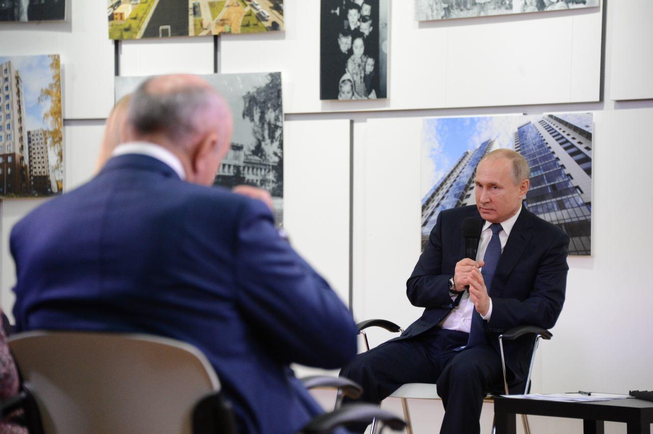 <p>Президент России Владимир Путин. Фото: &copy; L!FE</p>