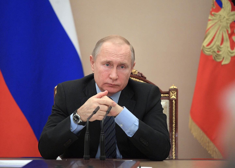 <p><span>Владимир Путин. Фото: &copy; РИА Новости/Алексей Дружинин</span></p>