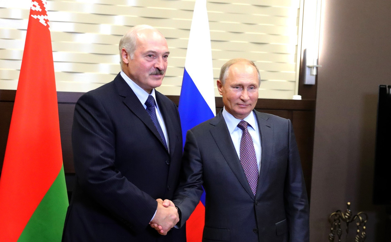 "<p>Александр Лукашенко и Владимир Путин. Фото: &copy;<span>&nbsp;</span><a href=""http://kremlin.ru/events/president/news/58607/photos/55621"">Пресс-служба Кремля</a></p> <div> <div></div> </div>"