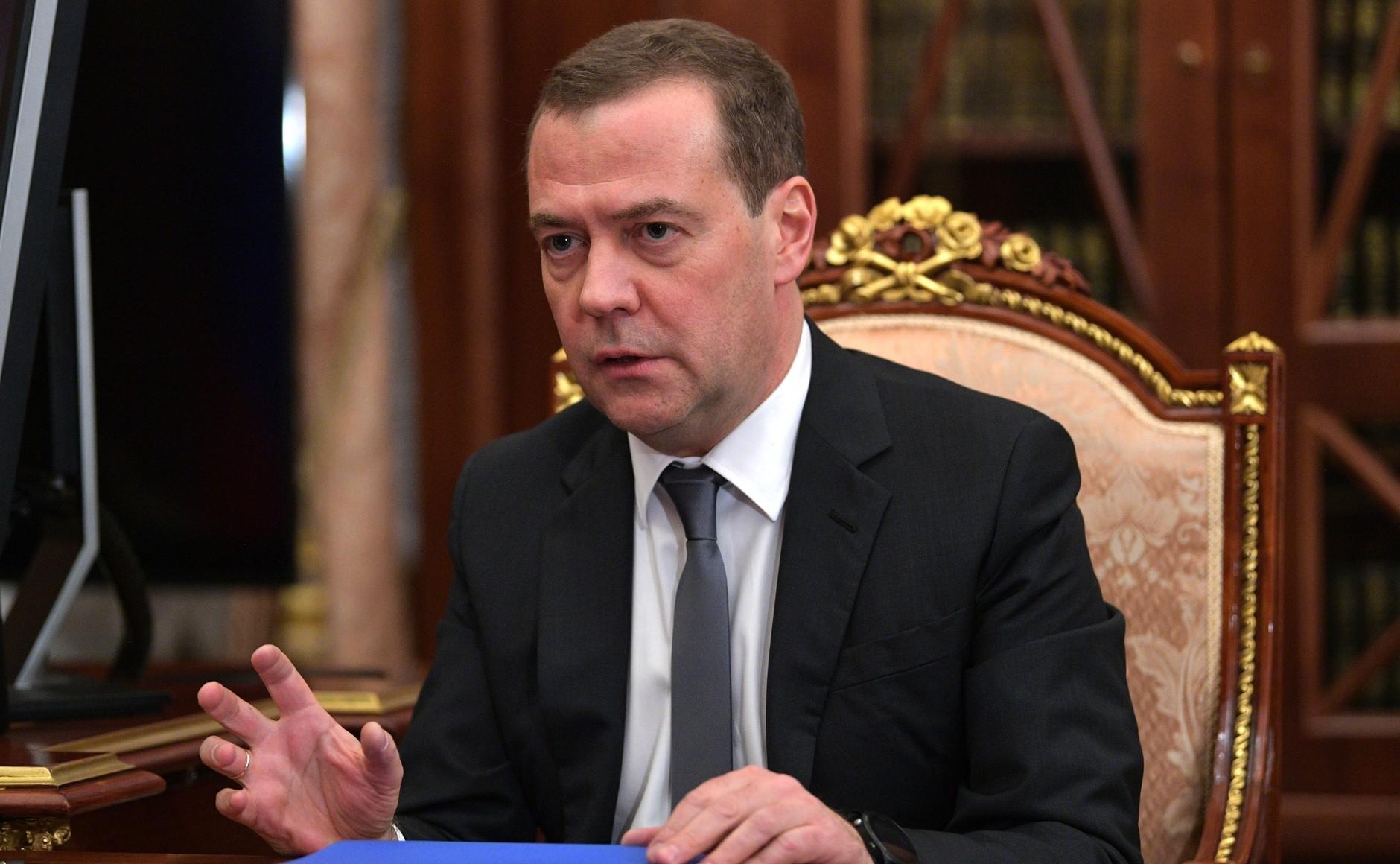 <p>Председатель Правительства РФ Дмитрий Медведев.&nbsp;Фото: &copy; Kremlin.ru</p>