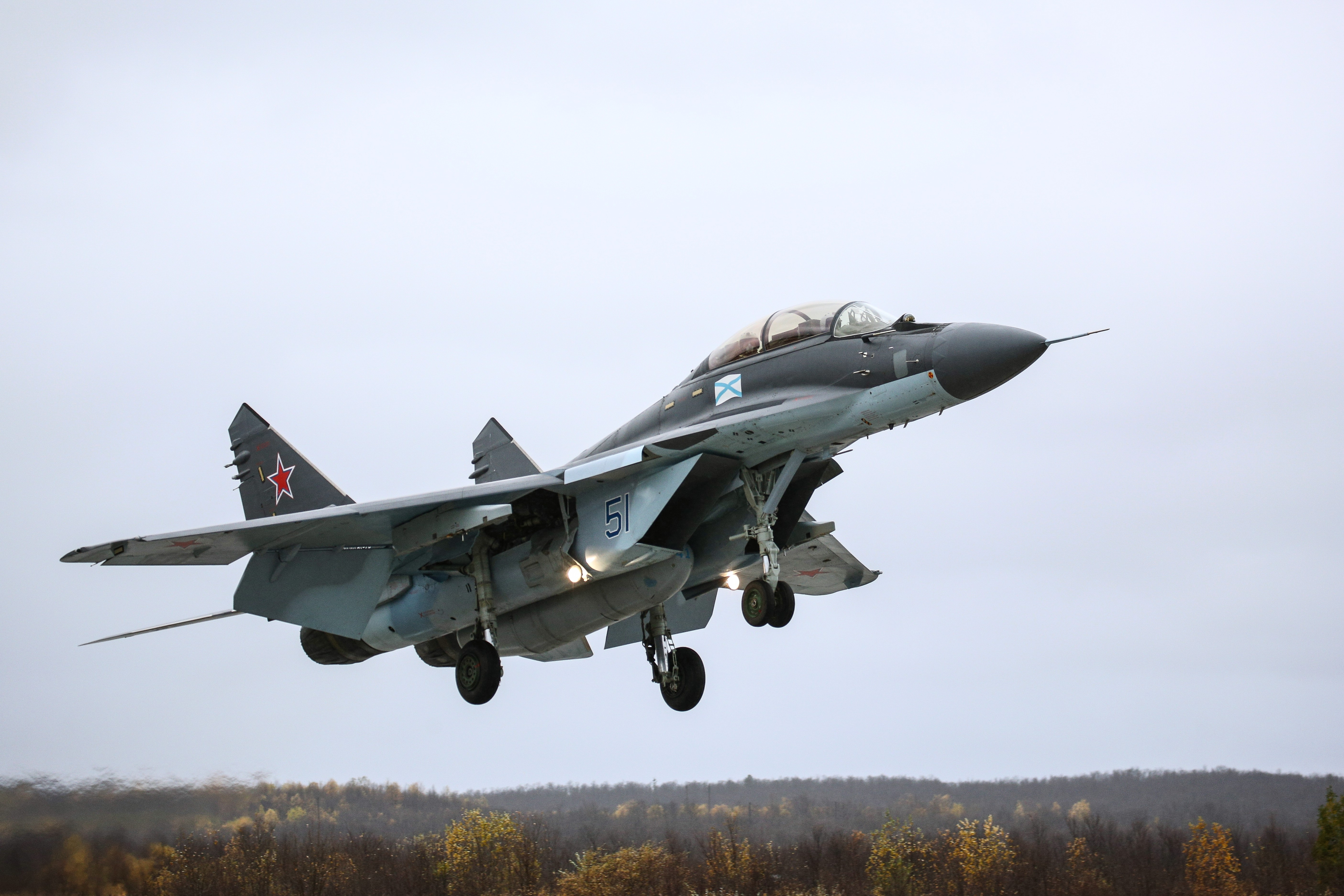 <p>Российский многоцелевой истребитель МиГ-29К. Фото: &copy;РИА Новости/Павле Львов</p>