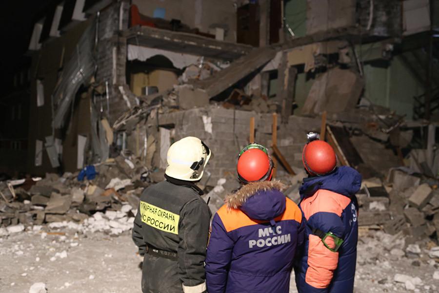 Фото © РИА Новости/Пресс-служба ГУ МЧС России по Красноярскому краю