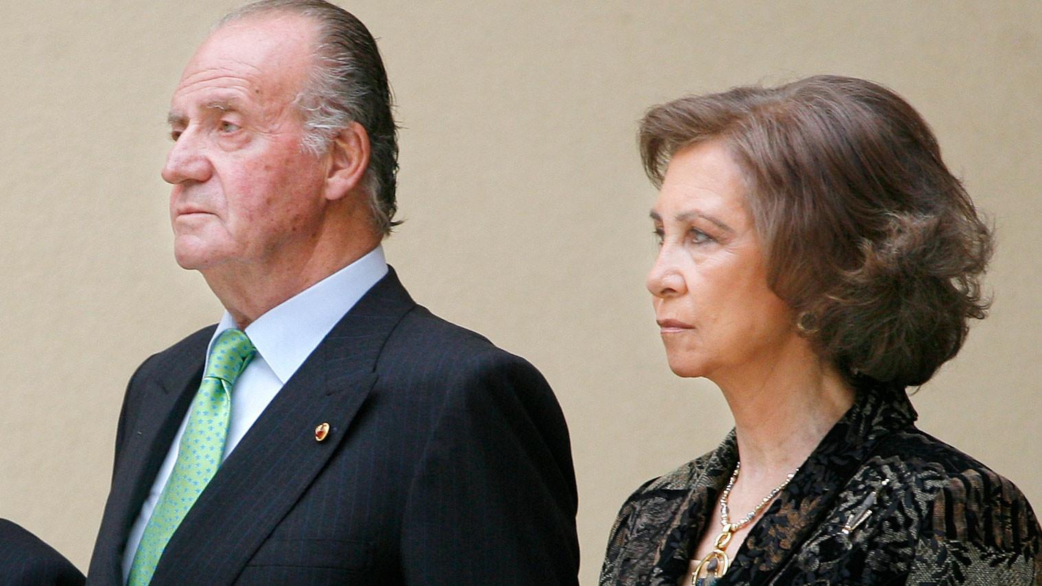 Хуан Карлос I де Бурбон и королева София. Фото: © AP Photo/Daniel Ochoa de Olza