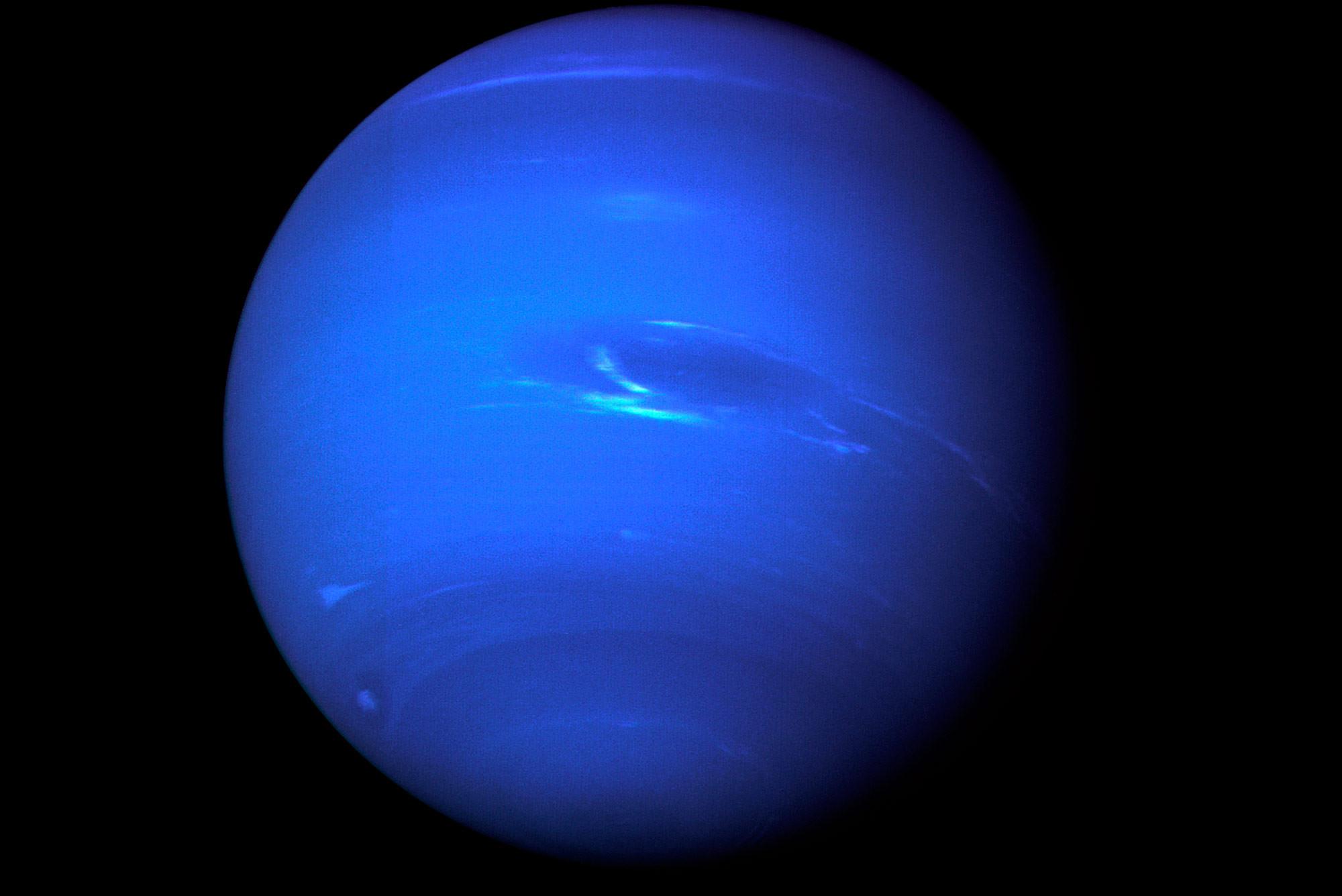 <p><span>Планета Нептун. Фото: &copy; NASA/Voyager</span></p>