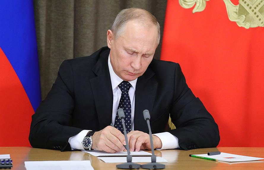 <p>Владимир Путин. Фото: © РИА Новости/Михаил Климентьев</p>