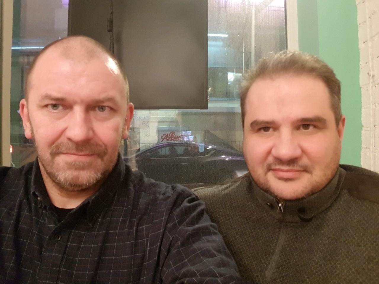 "<p>Александр Казаков (слева) и Александр Тимофеев (справа). Фото: © VK/<a href=""https://vk.com/alekazakov"" target=""_self"">Александр Казаков</a></p>"