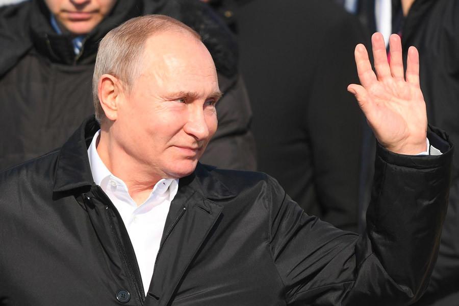 <p>Владимир Путин. Фото: © РИА Новости/Рамиль Ситдиков</p>