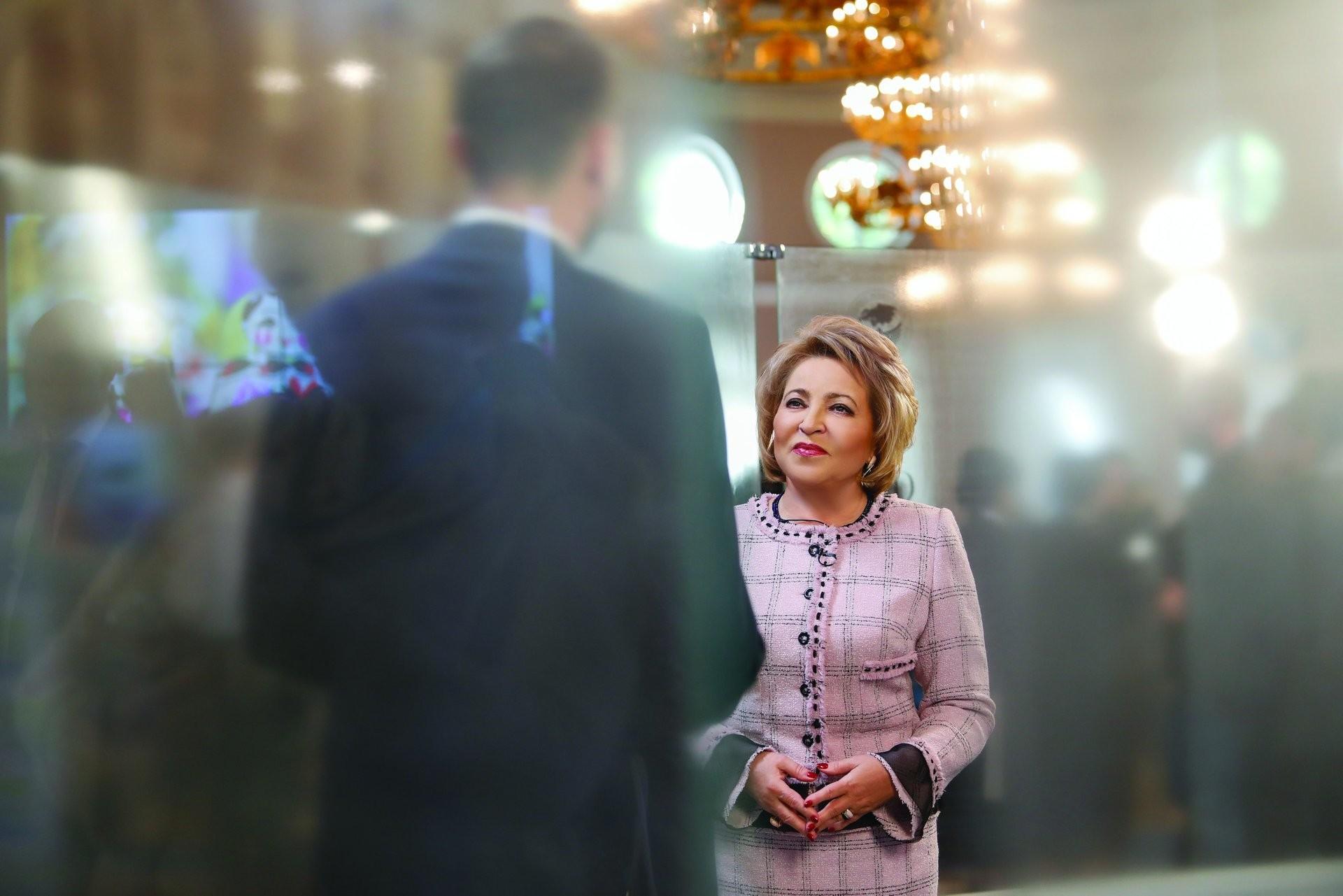 <p>Валентина Матвиенко. Фото: © Совет Федерации</p>