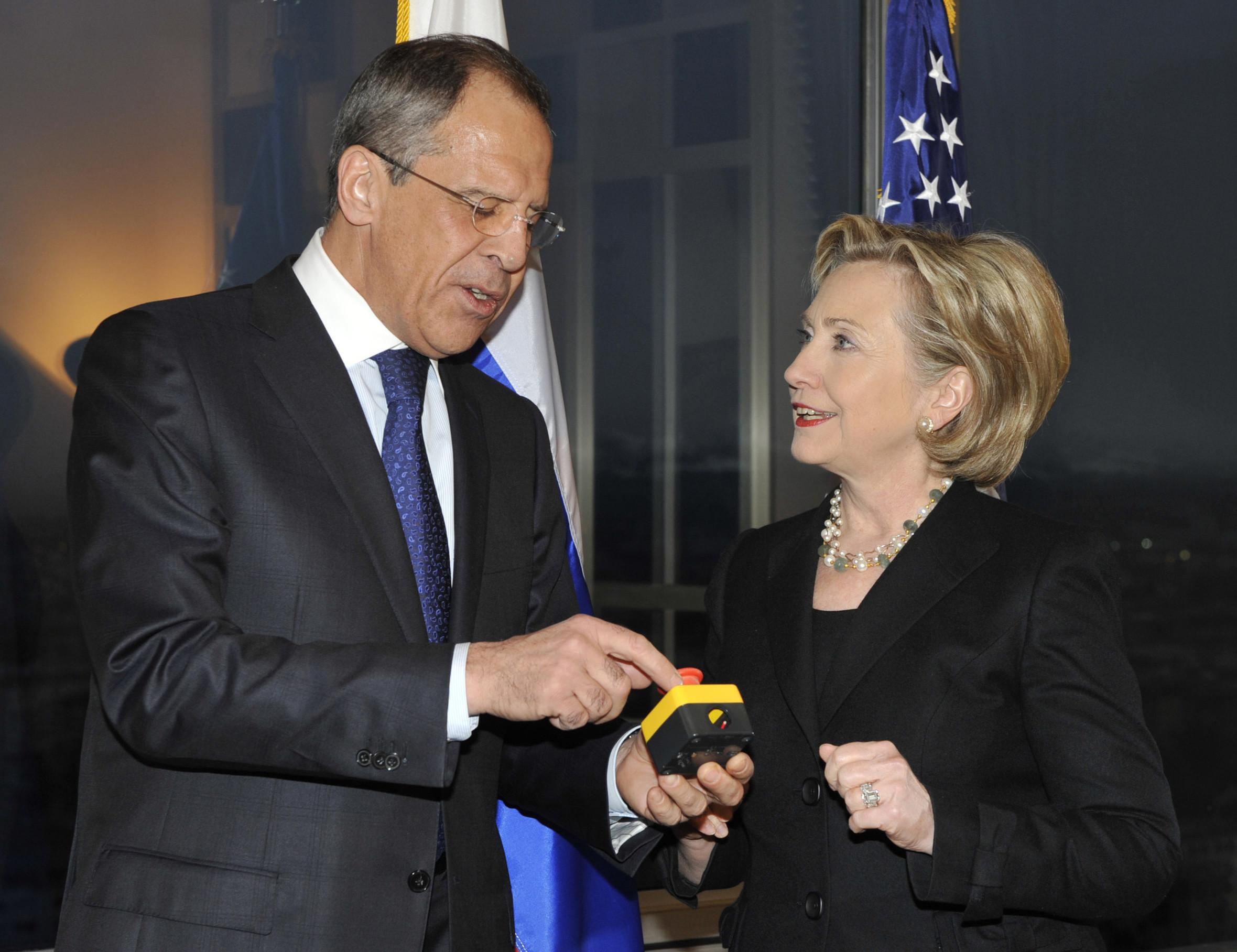 <p>Сергей Лавров и Хиллари Клинтон. Фото: © AP Photo</p>