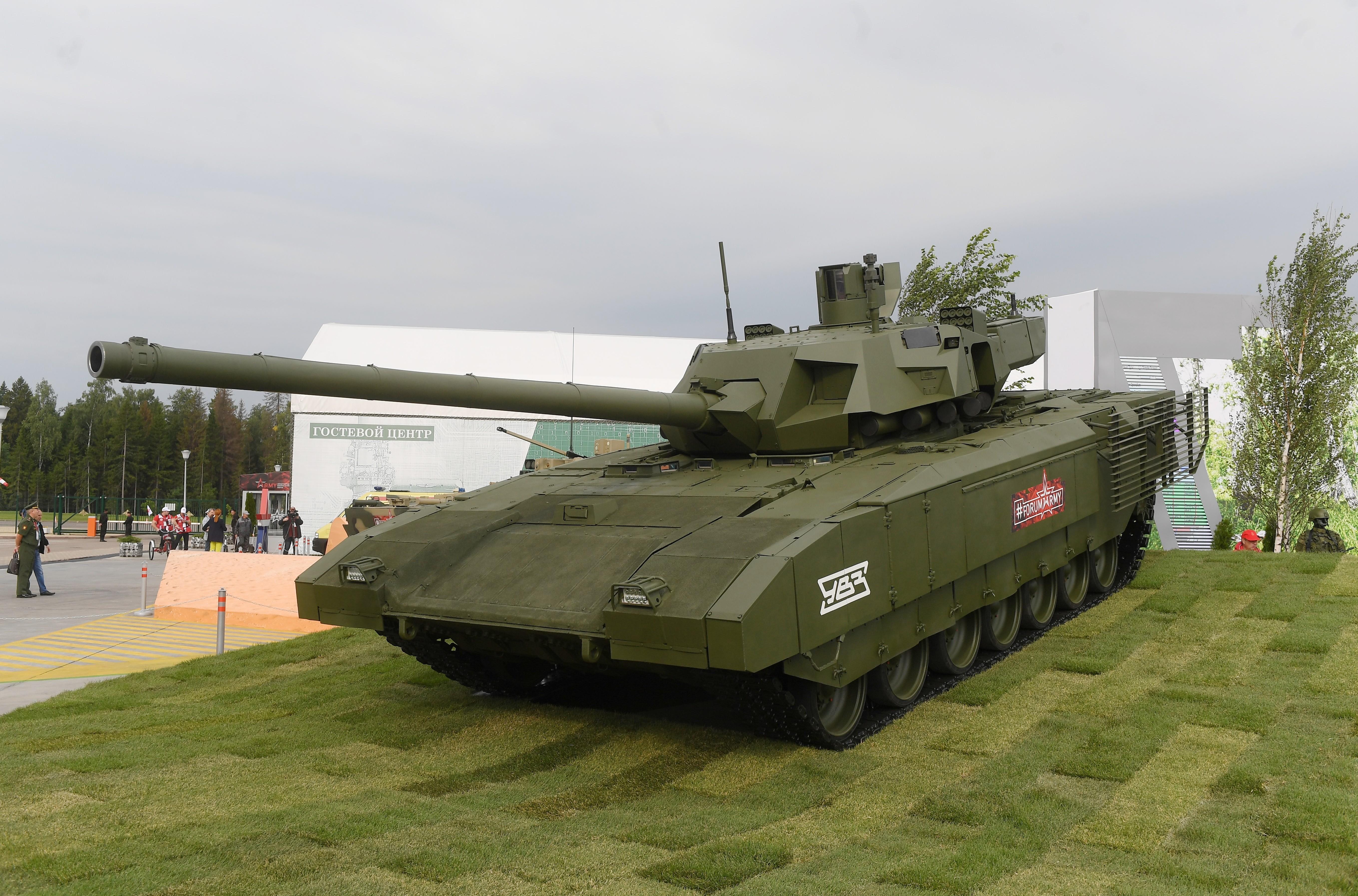 "<p>Танк Т-14 ""Армата"". Фото: ©РИА Новости/Алексей Куденко</p>"