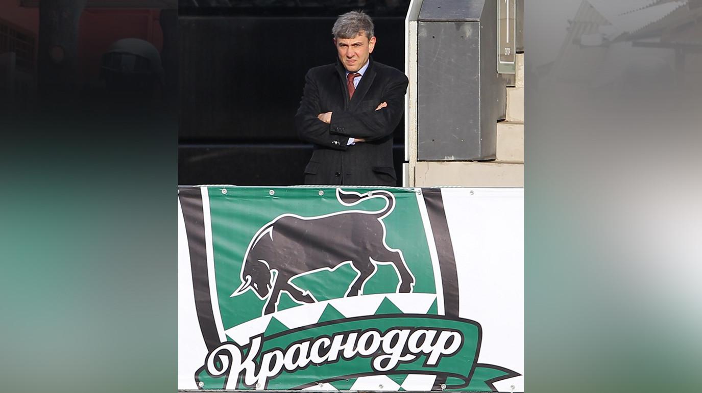 """<p>Президент """"Краснодара"""" Сергей Галицкий. Фото: © РИА Новости/Виталий Тимкив<br></p>"""