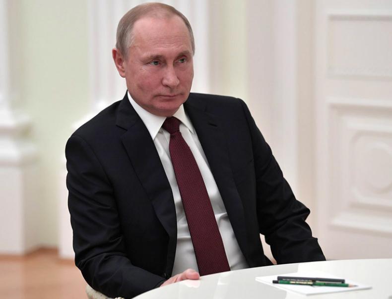 <p>Преидент России Владимир Путин. Фото: © РИА Новости/Алексей Никольский</p>