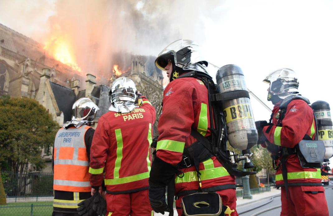 французские пожарные фото