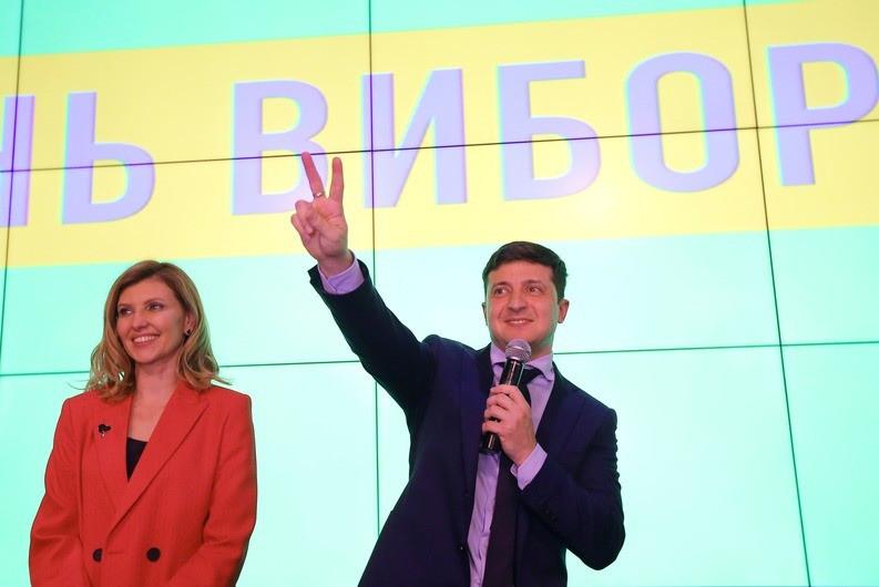 <p>Елена и Владимир Зеленские. Фото: © РИА Новости</p>