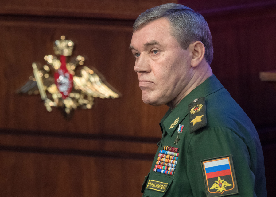<p>Начальник Генштаба ВС РФ, генерал армии Валерий Герасимов. Фото: © РИА Новости/ Сергей Гунеев</p>