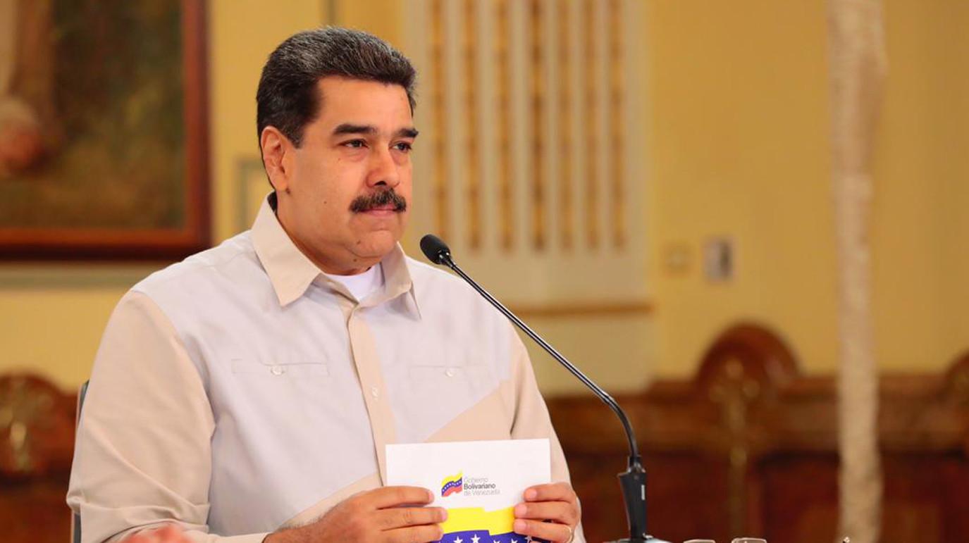 "<p>Фото: © Twitter / <a href=""https://twitter.com/NicolasMaduro/status/1121955115945091072"" target=""_self""><strong>Nicolás Maduro</strong></a></p>"
