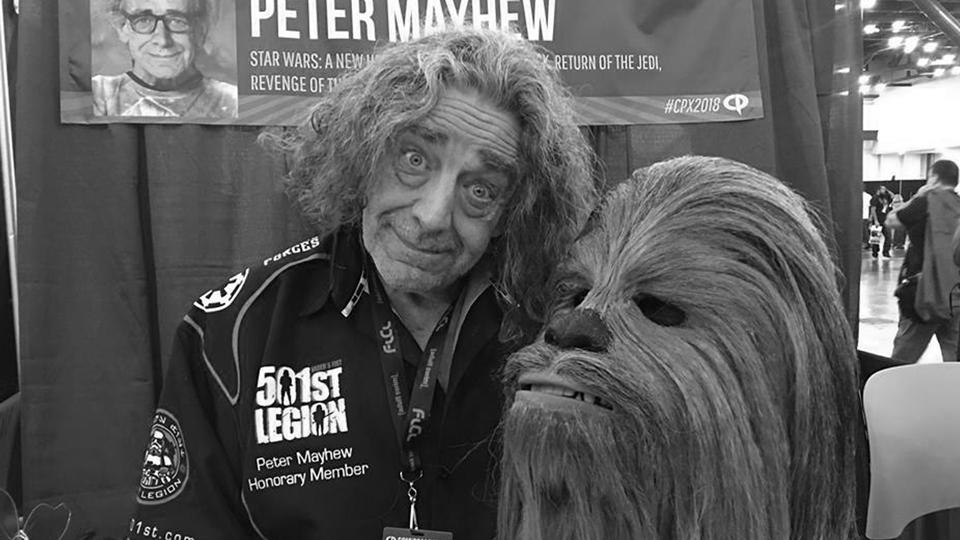 "<p>Фото: © Facebook / <a href=""https://www.facebook.com/thewookieeroars/"" target=""_self"">Peter Mayhew — The Wookiee Roars</a></p>"