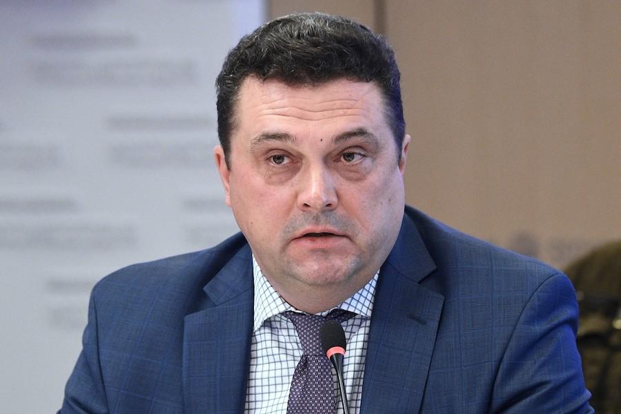"<p>Владимир Соловьёв. Фото: © РИА ""Новости"" / Нина Зотина</p>"