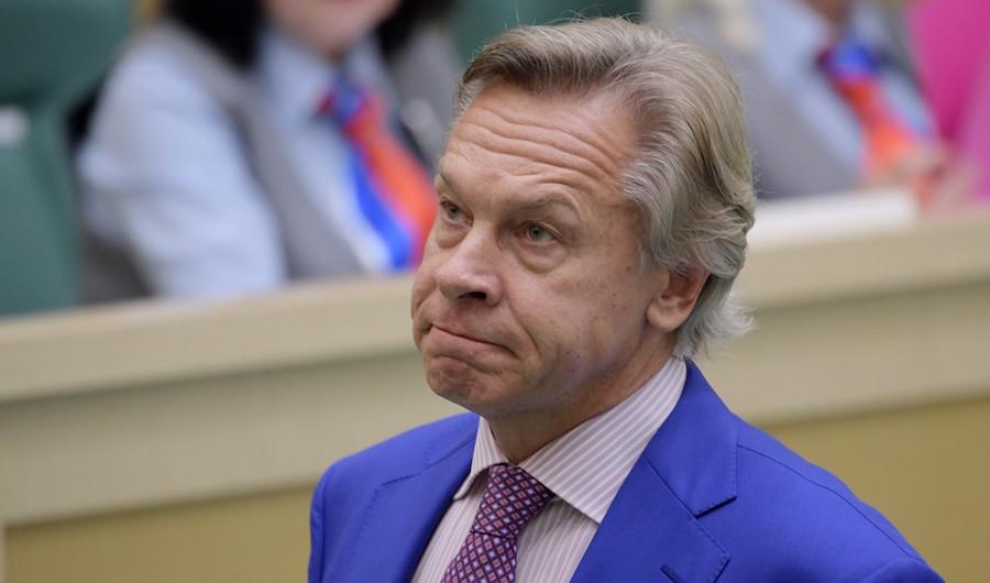 <p>Алексей Пушков. Фото: © РИА Новости / Владимир Федоренко</p>