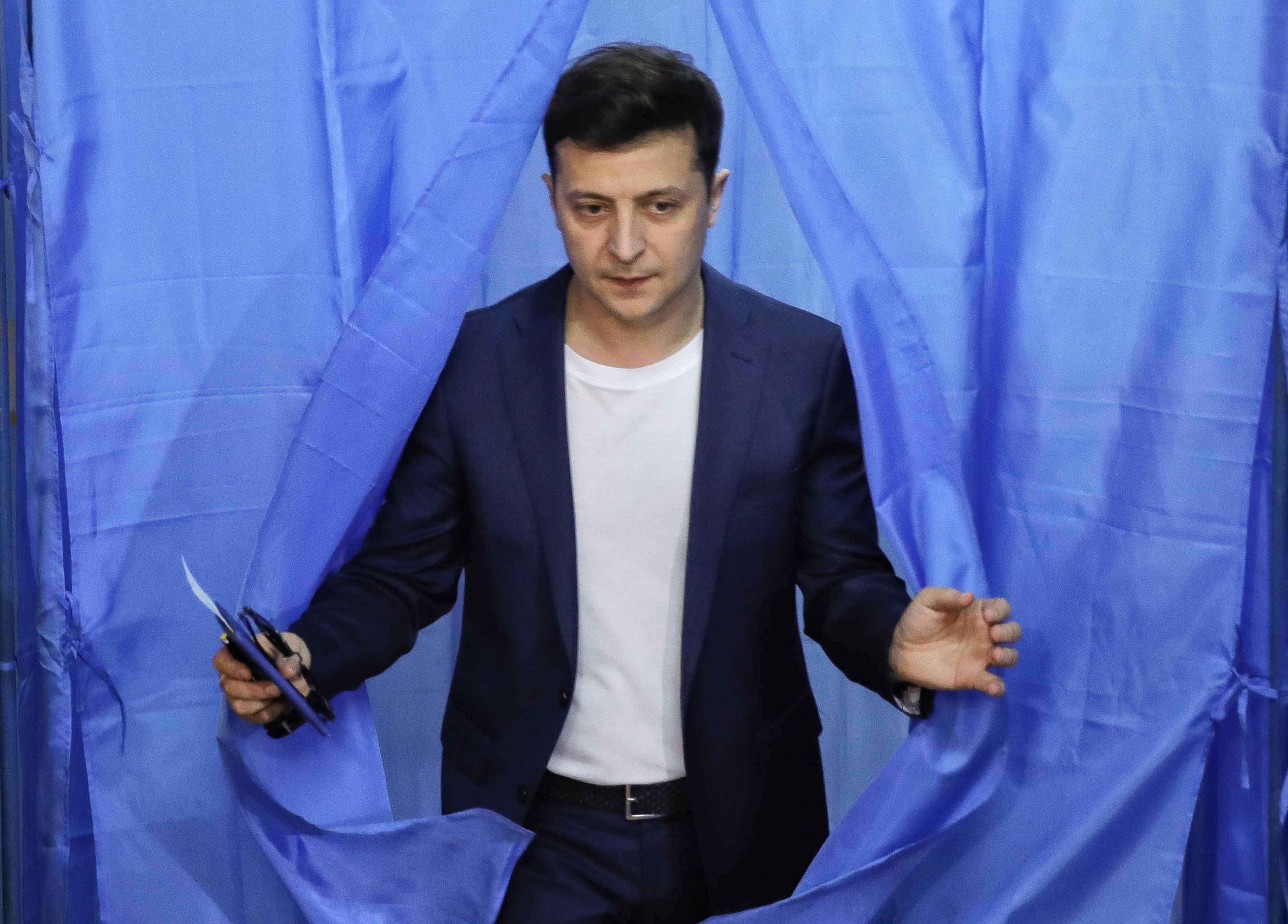 <p>Владимир Зеленский. Фото: © AP Photo / Vadim Ghirda</p>