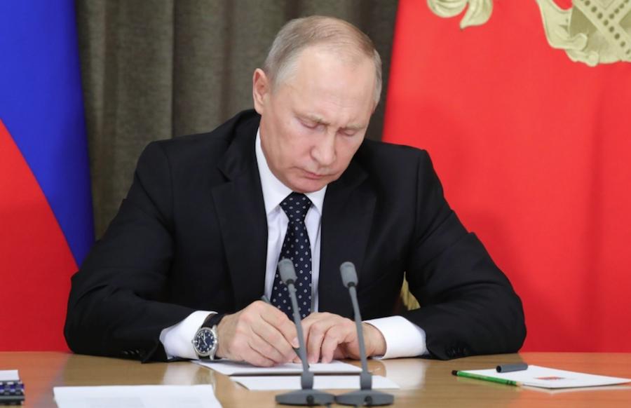 """<p>Владимир Путин. Фото: © РИА """"Новости"""" / Михаил Климентьев</p>"""