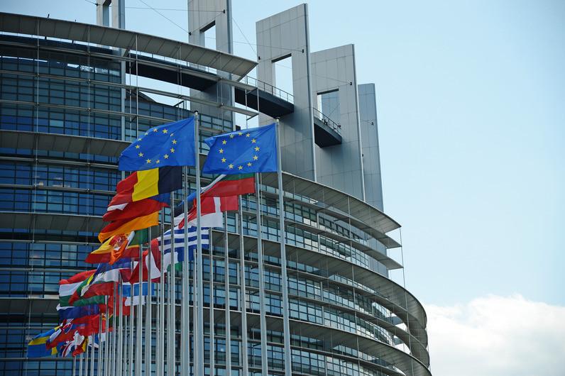 """<p>Здание Европейского парламента в Страсбурге. Фото © РИА """"Новости"""" / Алексей Витвицкий</p>"""