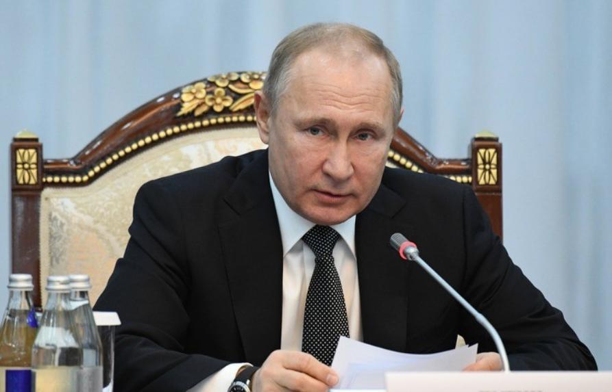 """<p>Президент России Владимир Путин. Фото © РИА """"Новости"""" / Григорий Сысоев</p>"""