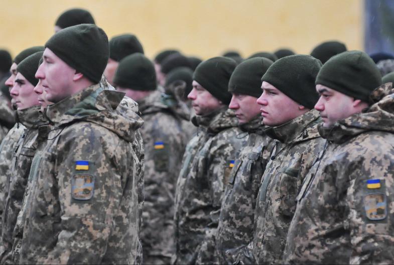 """<p>Украинские военные. Фото © РИА """"Новости""""</p>"""