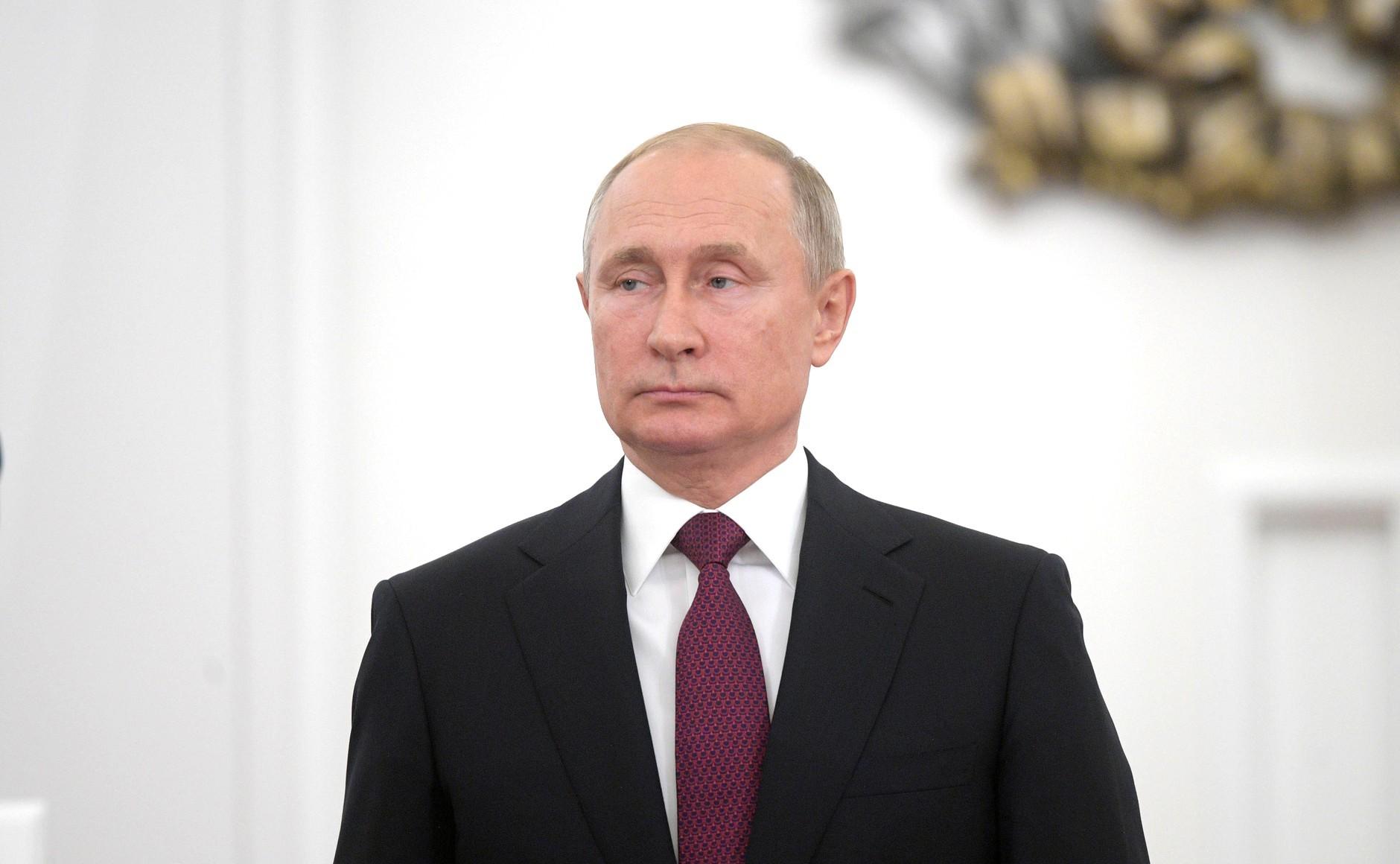 "<p>Владимир Путин. Фото ©<a href=""http://kremlin.ru/events/president/news/60736/photos/59466"" target=""_self"">Офицальный сайт президента России</a></p>"