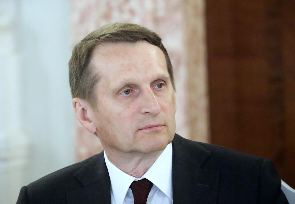 <p>Сергей Нарышкин. Фото © Интерпресс/ТАСС</p>