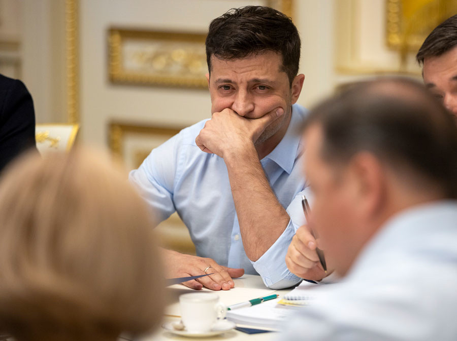 <p>Фото © Ukrainian Presidential Press Office via AP</p>
