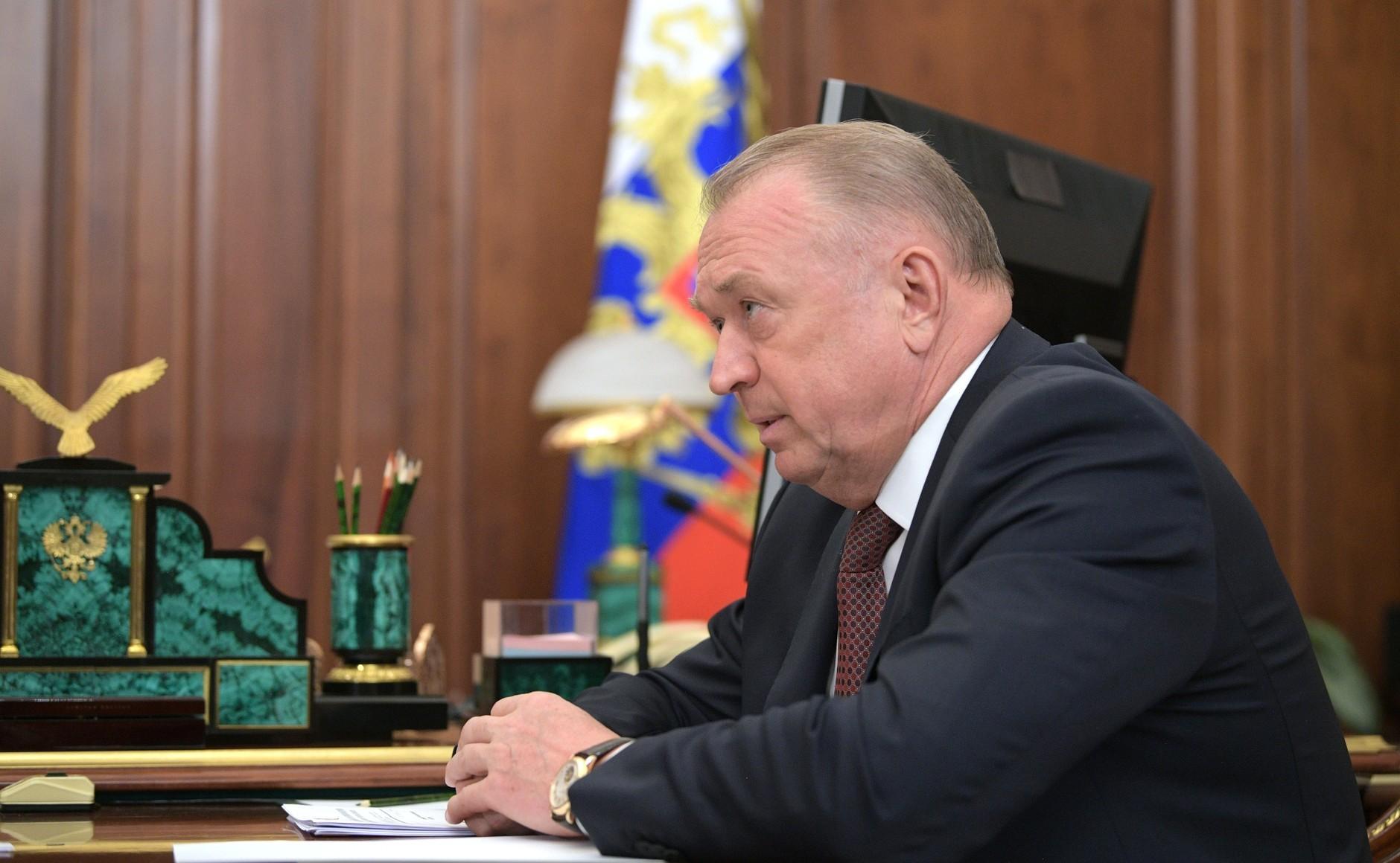 <p>Глава Торгово-промышленной палаты (ТПП) Сергей Катырин. Фото © Kremlin</p>